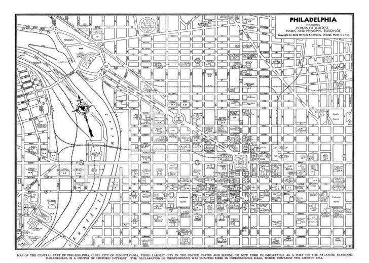photograph regarding Printable Maps of Philadelphia named philadelphia road map printable Printable Maps