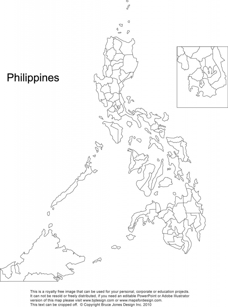 Philippines Blank Printable, Royalty Free, Manila | Gift Ideas - Free Printable Map Of The Philippines