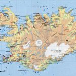 Physical Map Of Iceland. Iceand Physical Map | Vidiani | Maps Of   Maps Of Iceland Printable Maps