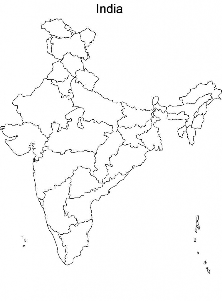 Pin4Khd On Map Of India With States In 2019   India Map, India - India River Map Outline Printable