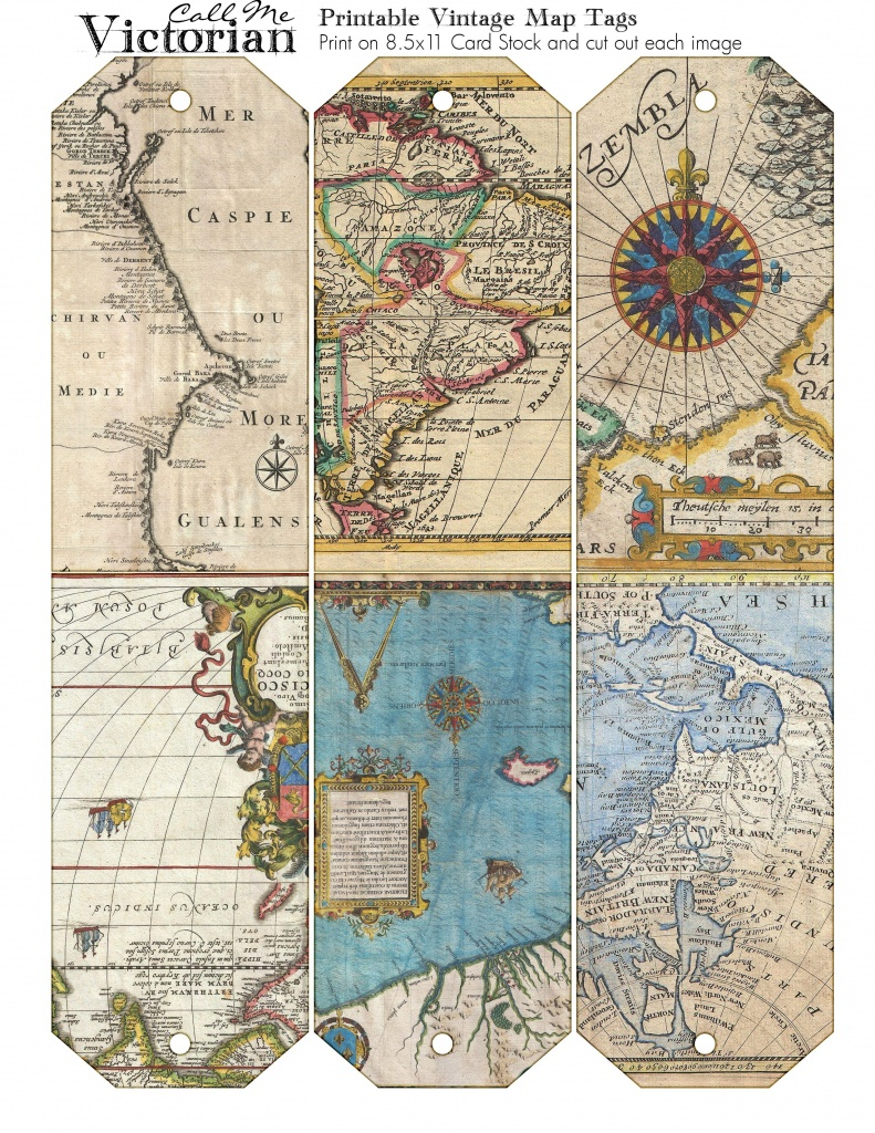 Pinclaudia Mazzotta On Vintage Images | Etiquetas Imprimibles - Free Printable Travel Maps