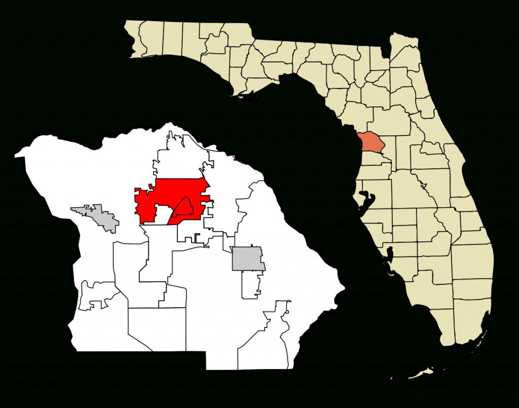 Pine Ridge, Citrus County, Florida - Wikipedia - Citrus Hills Florida Map