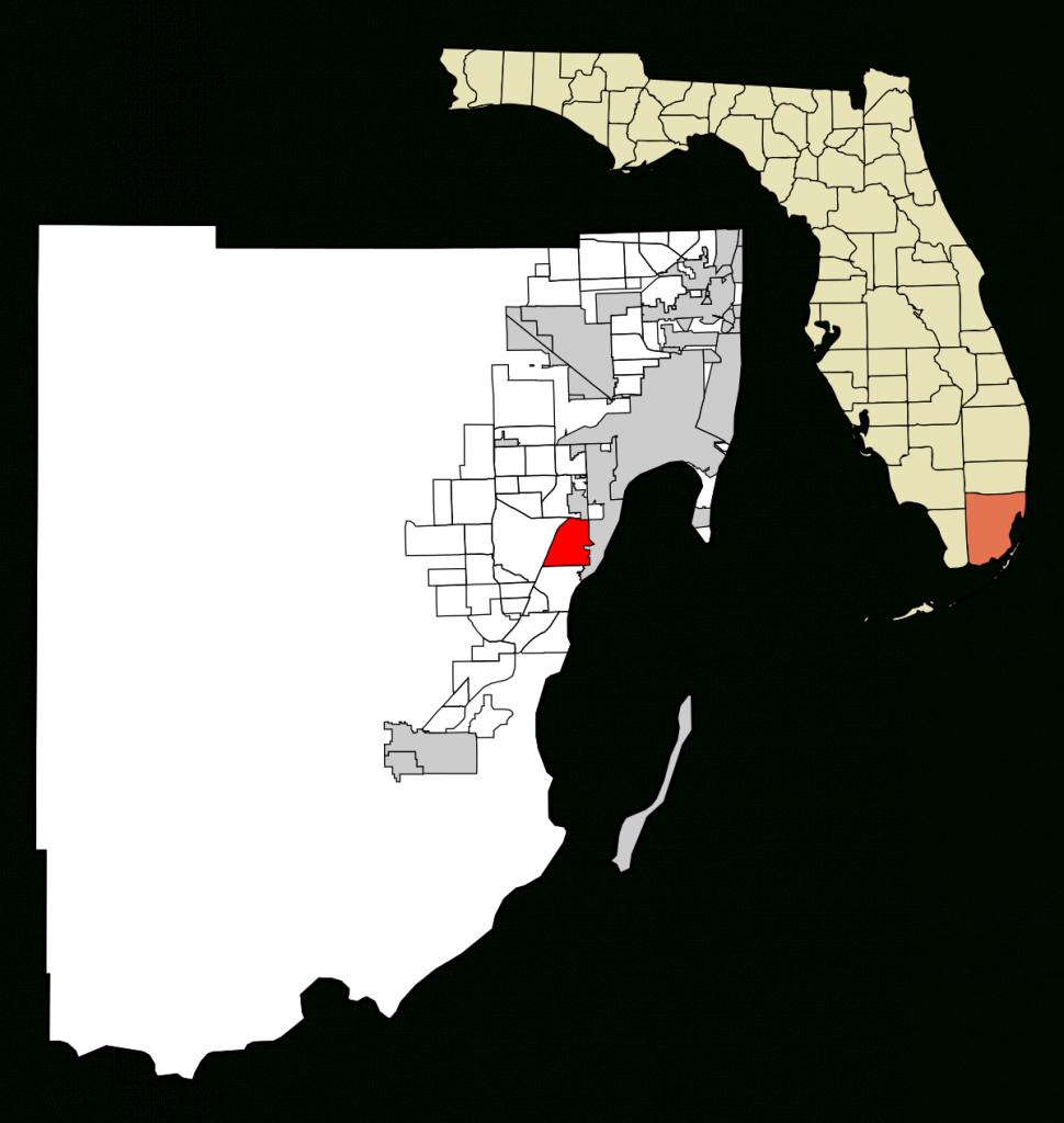 Pinecrest, Florida - Wikipedia - Coral Gables Florida Map