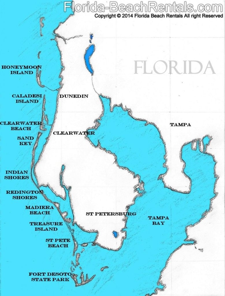 Pinellas County Florida Map, #florida #map #pinellascounty | Talk Of - Belleair Beach Florida Map