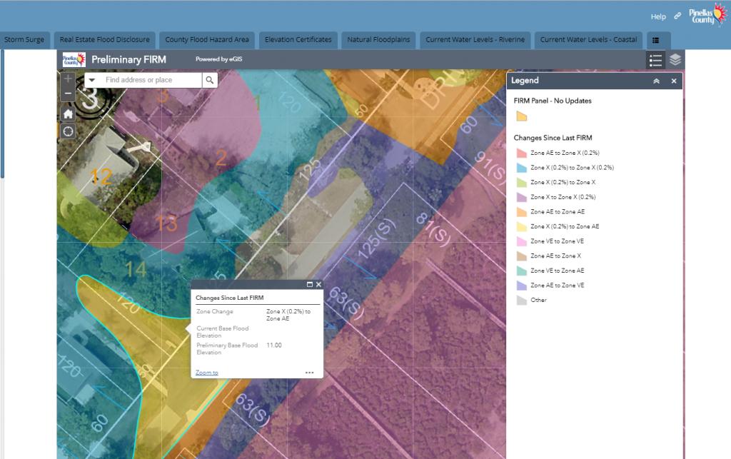 Pinellas County Latest To Update Fema Flood Maps | Wusf News - Flood Zone Map Hillsborough County Florida