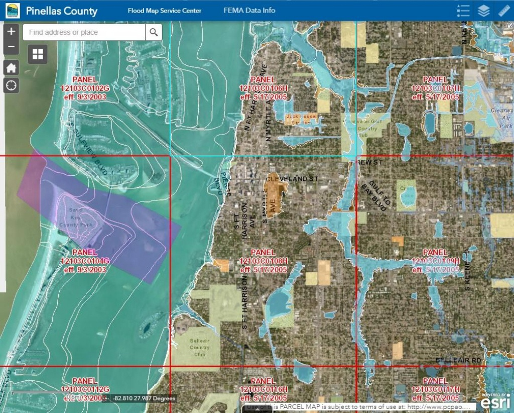 Pinellas County Schedules Meetings After Recent Fema Updates   Wusf News - Fema Flood Zone Map Sarasota County Florida
