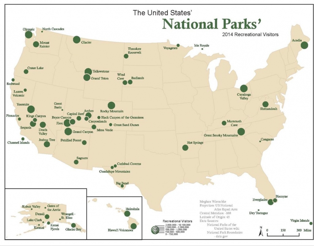 Pineona Britta On Will One Day Go | List Of National Parks - Printable Map Of National Parks