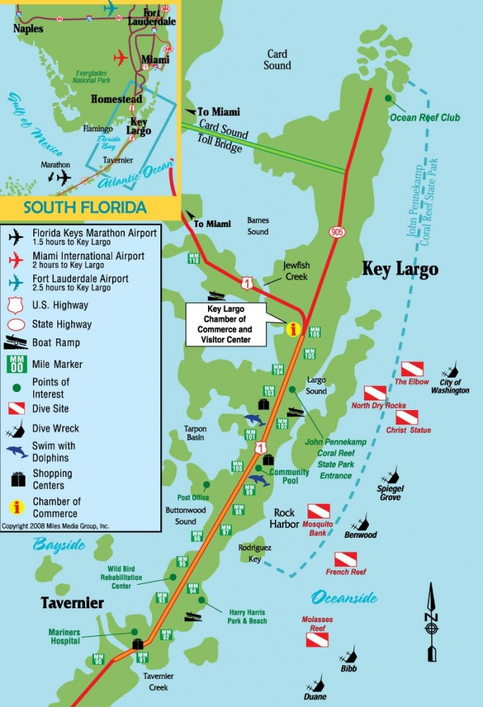 Pinjohn Kovach On The Sea & From The Sea | Key Largo Florida - Florida Keys Dive Map