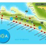 Pinjulie Tekell On 30A In 2019 | Rosemary Beach Florida, Florida   Seaside Beach Florida Map