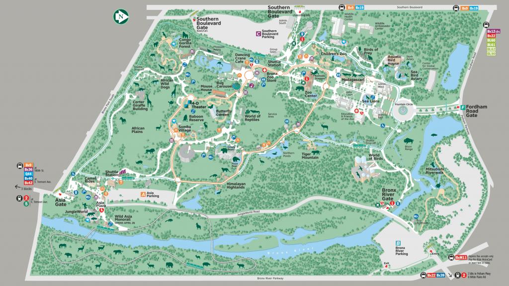 Pinlaura Malischke On Nyc!! | Bronx Zoo, Zoo Map, Map - Bronx Zoo Map Printable