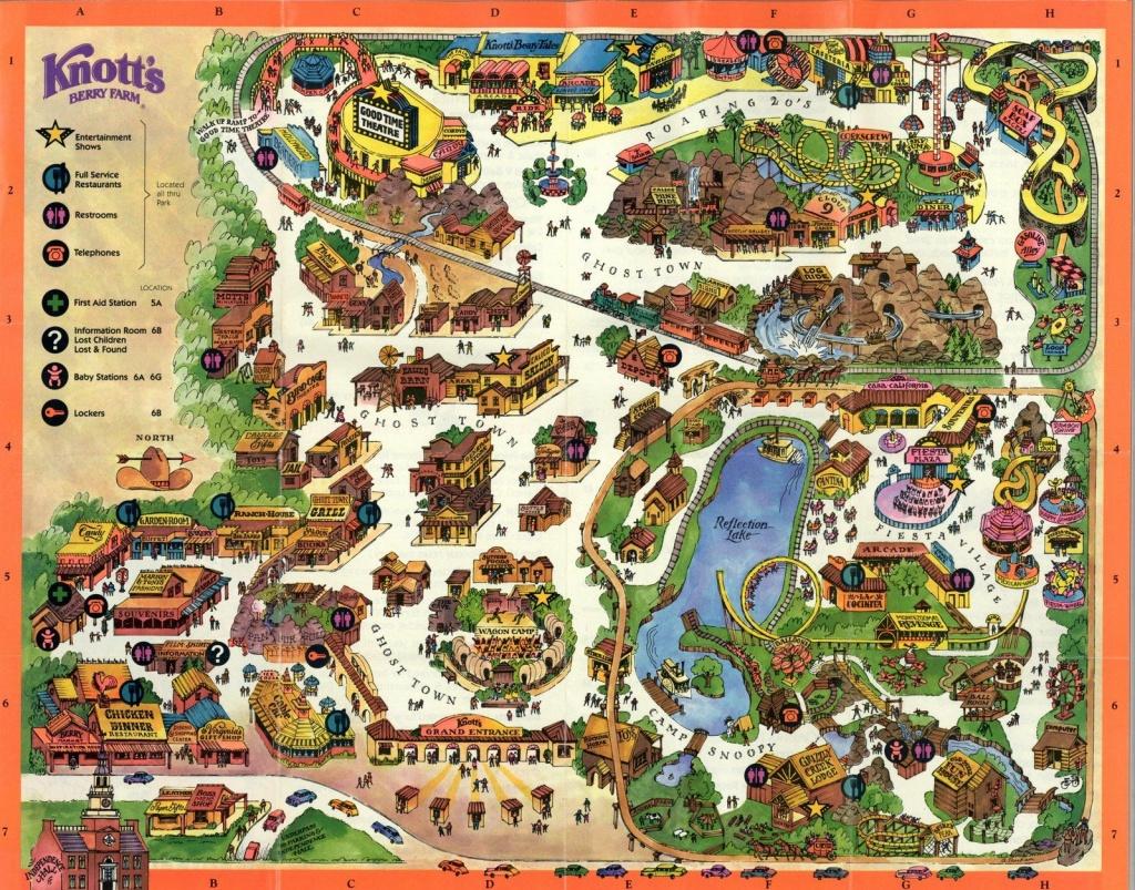 Pinliz Marrero On Childhood Memories | Knotts Berry, Theme Park - Knotts Berry Farm Map California