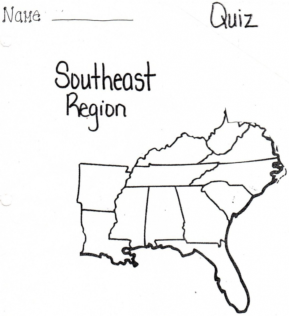 Pinnadine Castro On School | Map, Us Map Printable, Us Map - Southeast States Map Printable