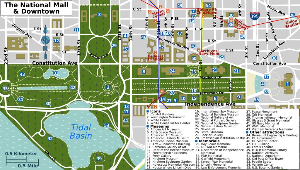 Pinpeggy Sheffold On Decor | Washington Dc Map, Washington Dc - Printable Walking Map Of Washington Dc