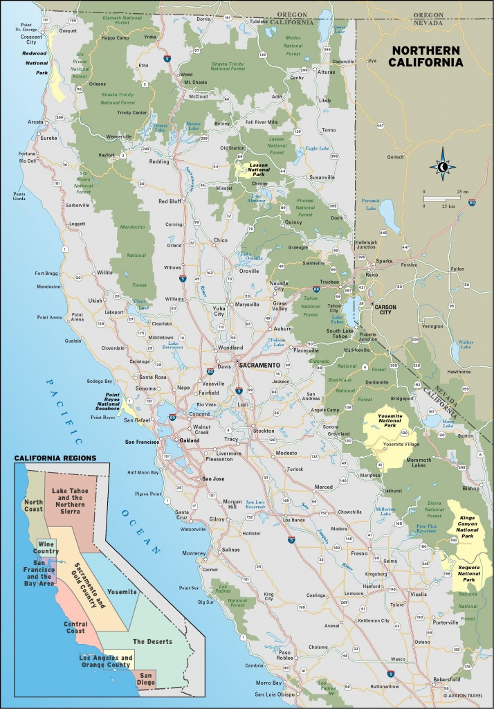 Pinstacy Elizabeth On Places I'd Like To Go In 2019   California - Northern California Road Trip Map