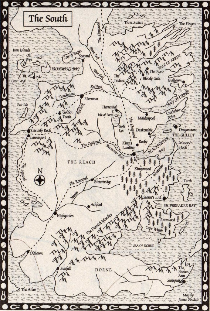 Pintess Richardson On Fictional Places & Spaces In 2019 | Game - Printable Map Of Westeros