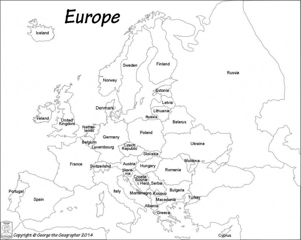 Pinzsa Zsa On Coloring Book | Europe Map Travel, Europe Map - Printable Black And White Map Of Europe