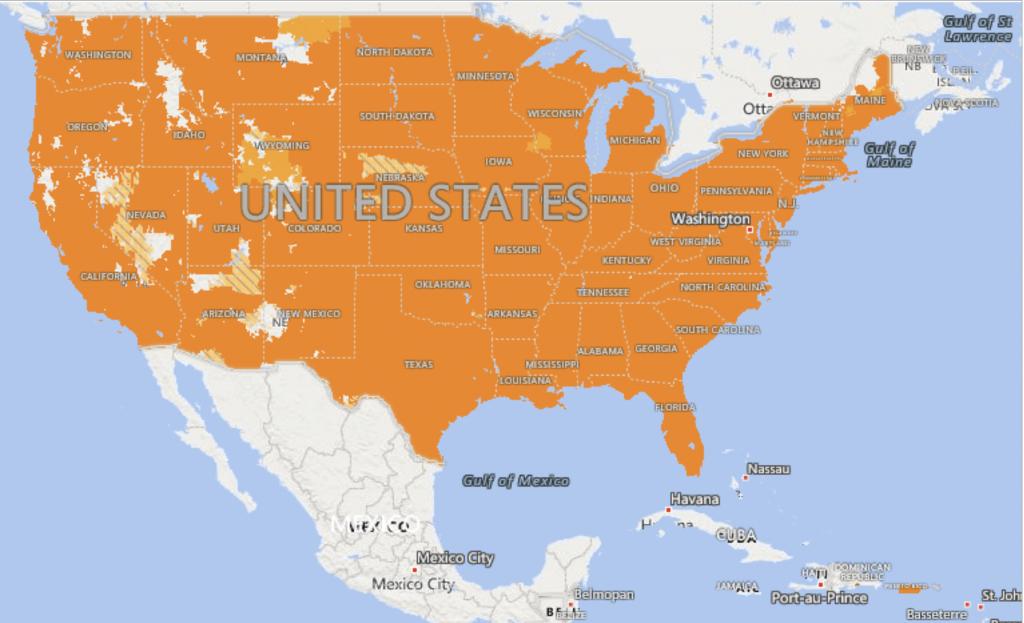 Pix Wireless Prepaid Usa Coverage – Pix Wireless Help Base - Sprint Coverage Map Florida