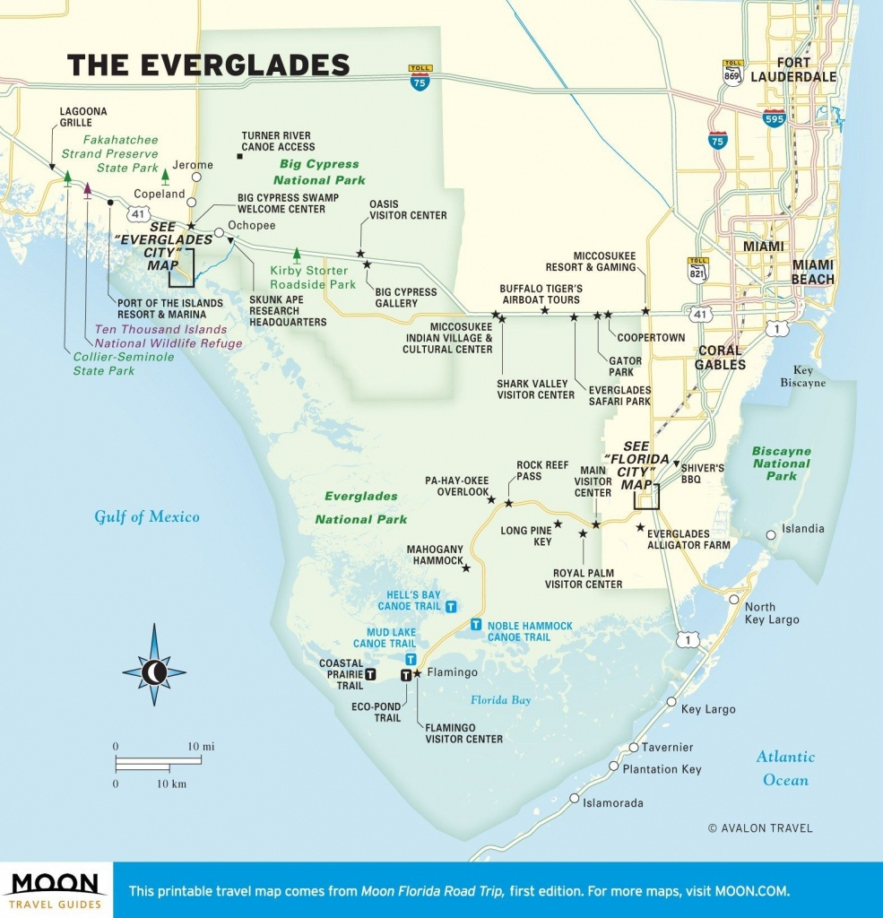 Planning A Trip To Everglades National Park | Florida | Everglades - Florida Everglades Map