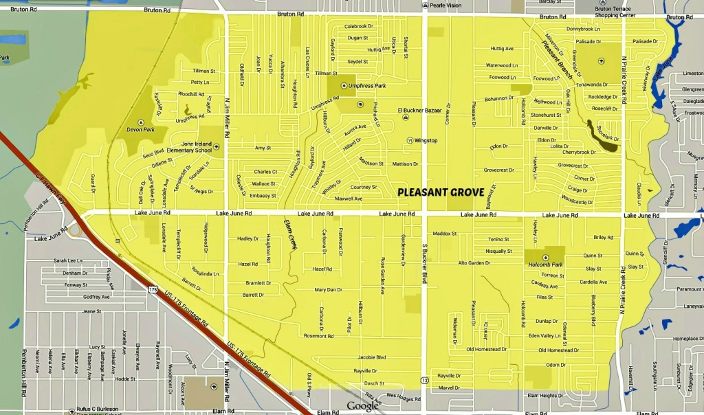Pleasant Grove, Dallas - Wikipedia - Map Records Dallas County Texas