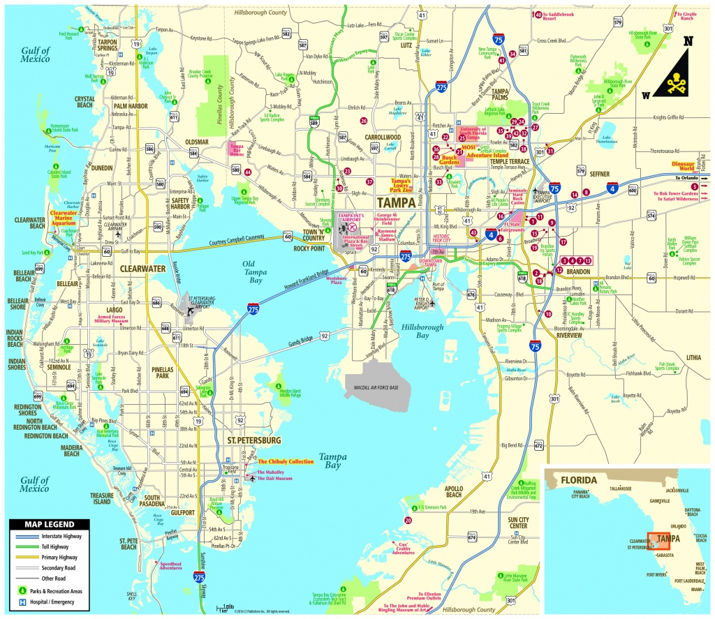 Pocket Map - Lutz Florida Map
