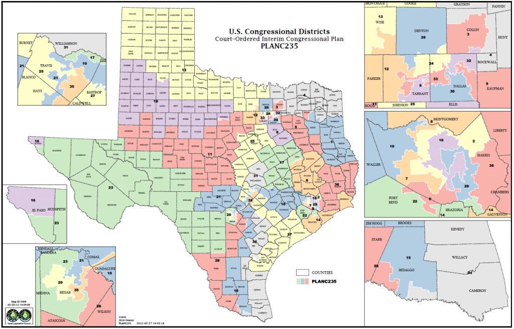 Political Participation: How Do We Choose Our Representatives - Texas State Representatives Map