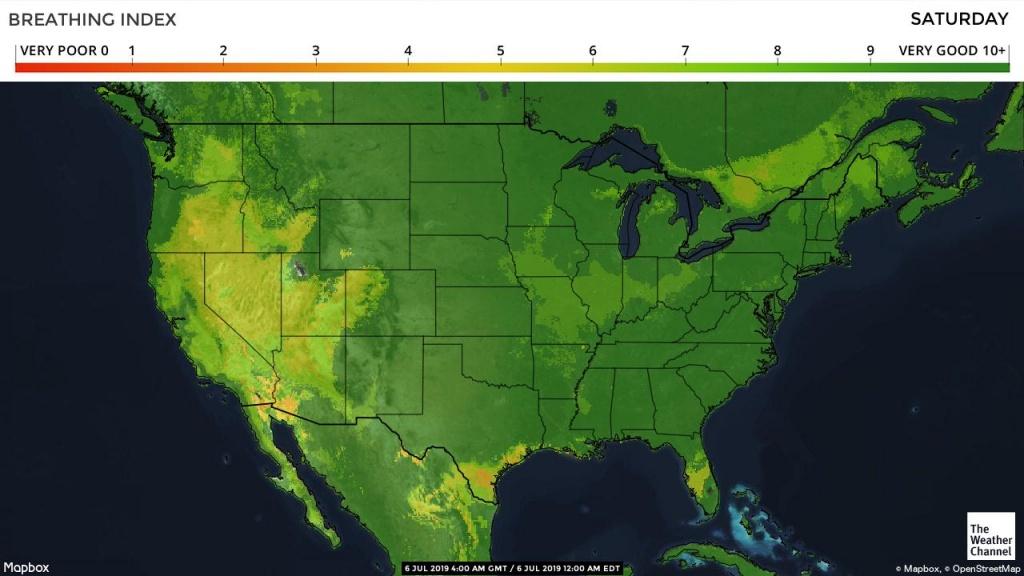 Pollen Count And Allergy Info For Waco, Tx - Pollen Forecast - Pollen Map Texas