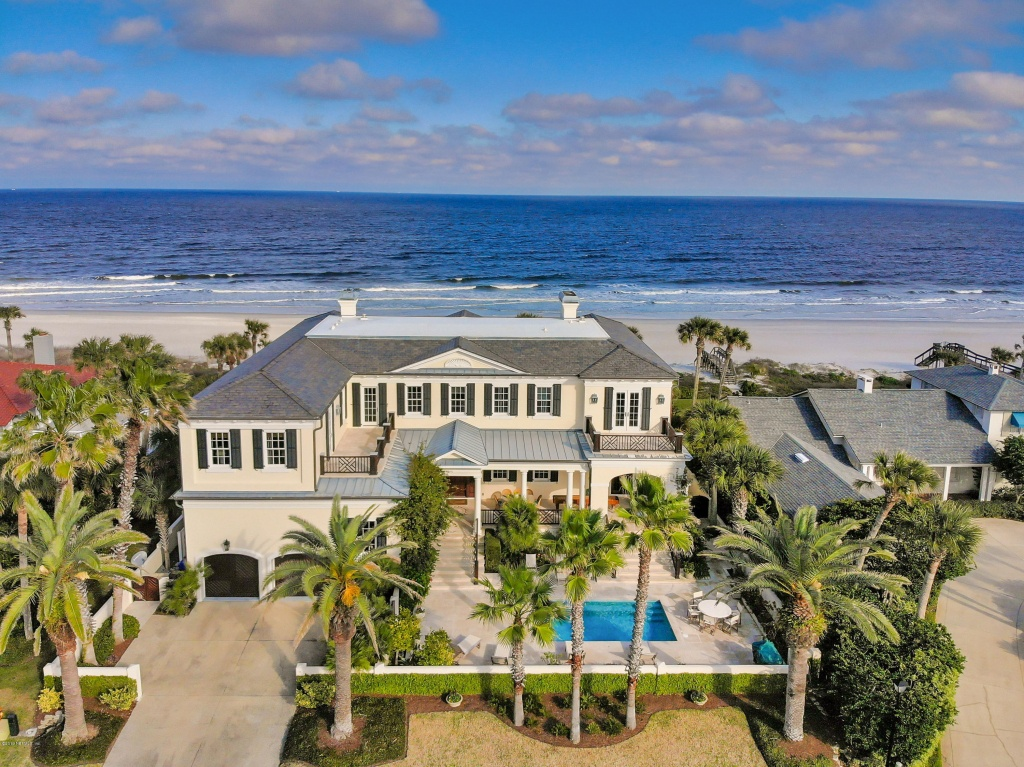 Ponte Vedra Beach Oceanfront Homes For Sale In Fl - Map Of Homes For Sale In Florida