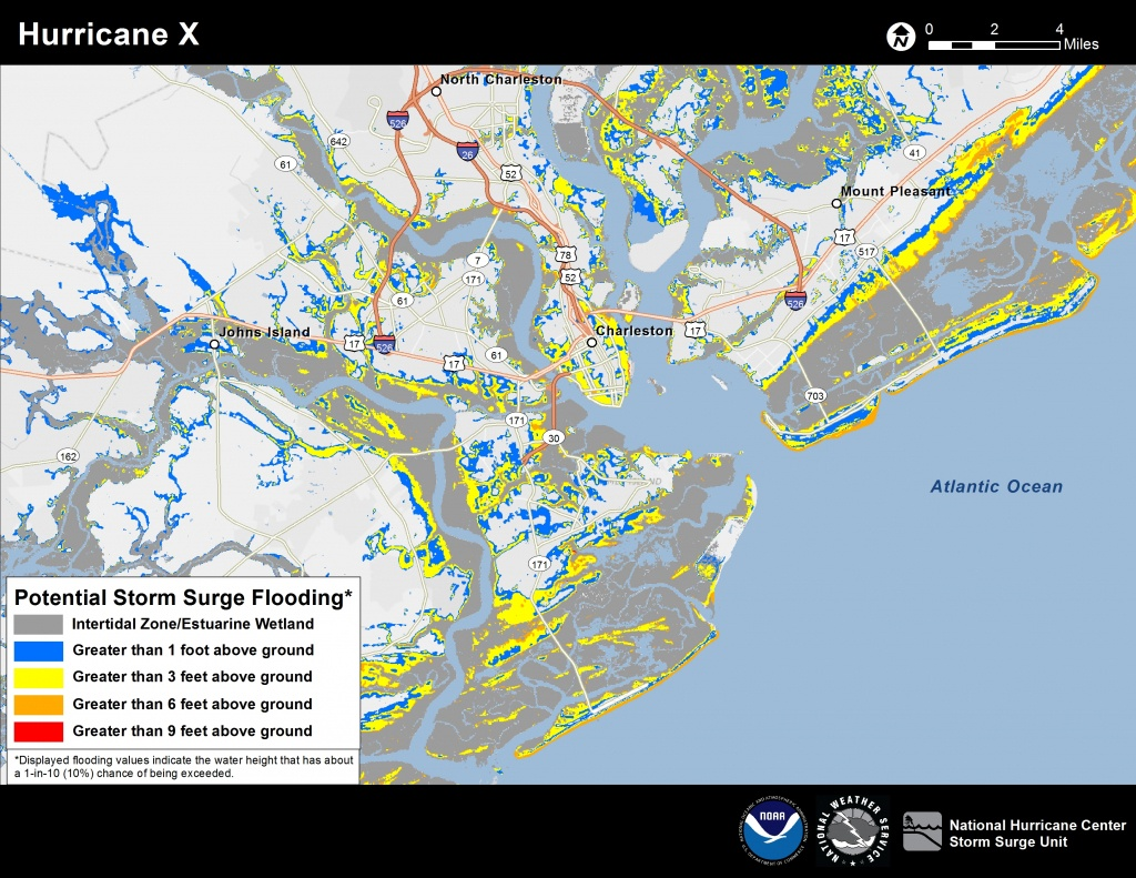 Potential Storm Surge Flooding Map - South Florida Flood Map