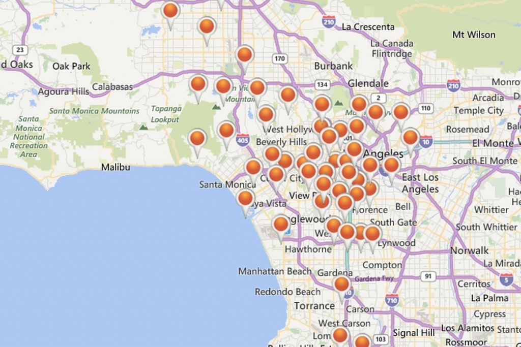 Power Outages Los Angeles Google Maps California Outage Map Gulf 6 - La California Google Maps
