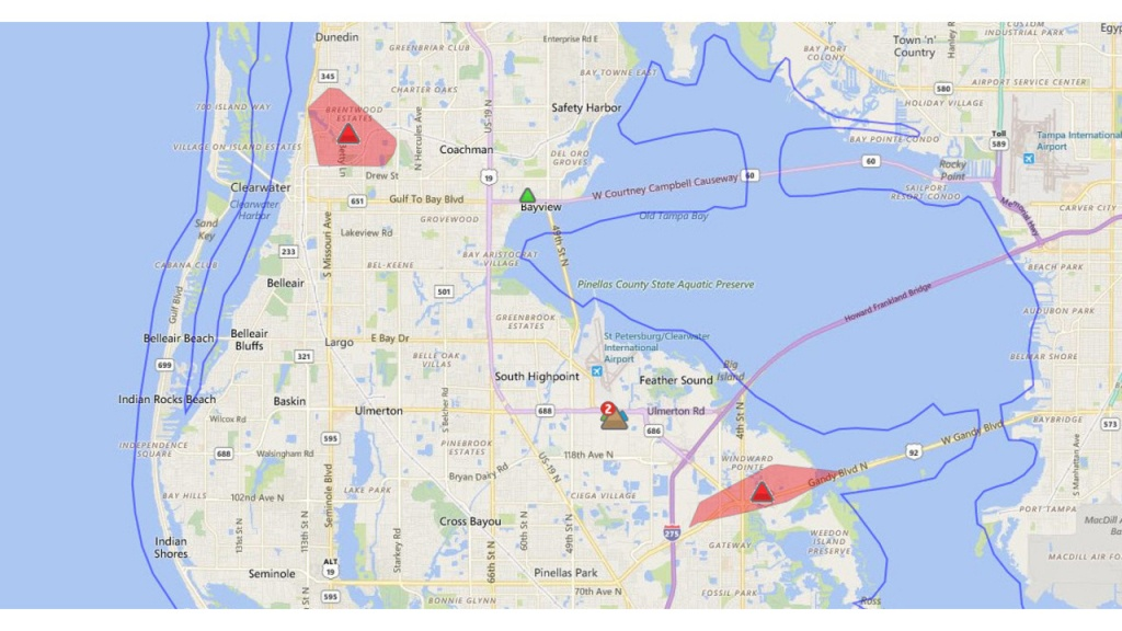 Power Restored To Most After Large Pinellas Outage - Duke Florida Outage Map
