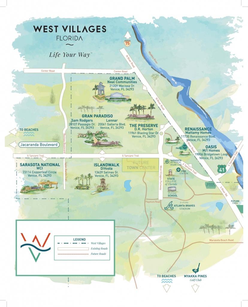 Press Releases - New Homes Sarasota, Home Builder Sarasota - Map Of South Venice Florida