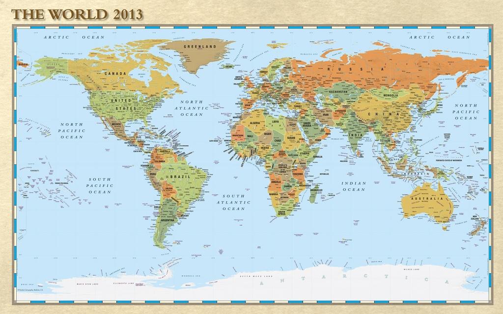 Print Of World Map ~ Afp Cv - World Map Poster Printable