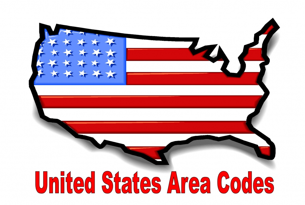 Printable Area Code Listnumber, State, Or Time Zone - Printable Us Map With Time Zones And Area Codes