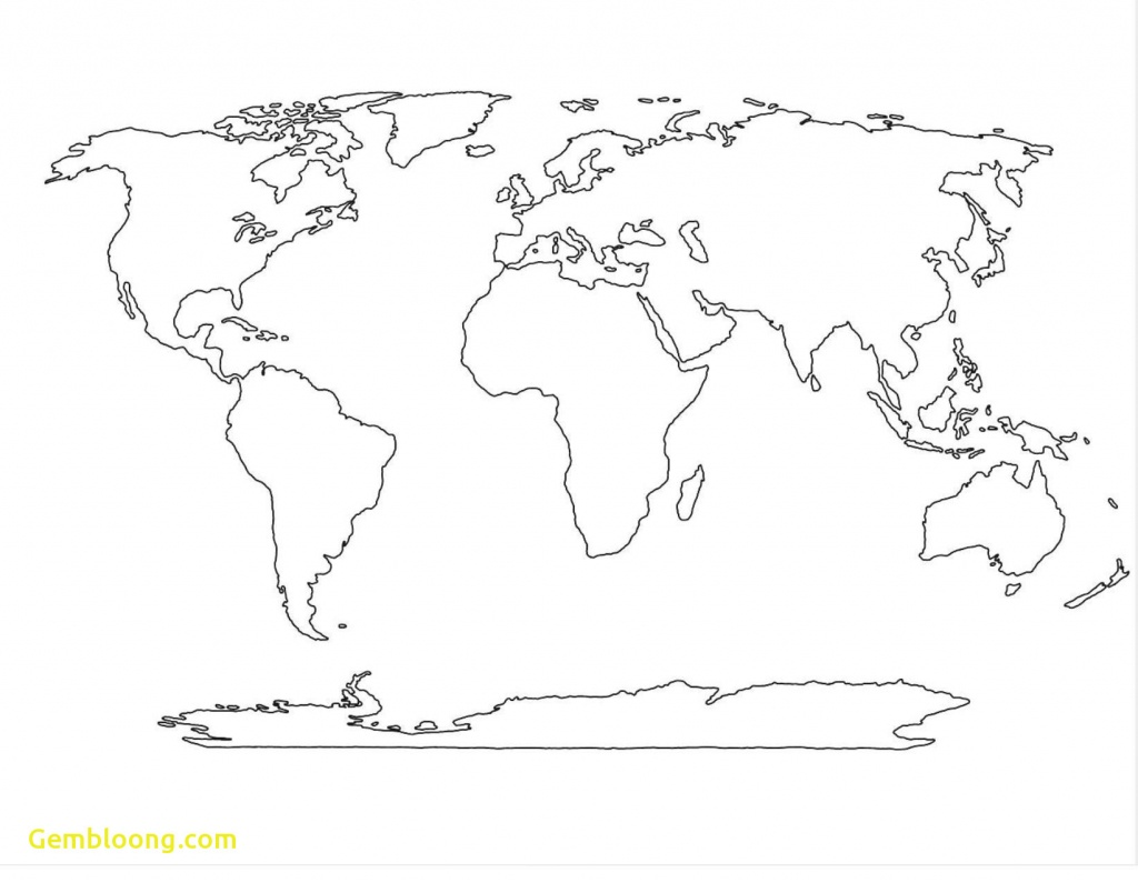 Printable Blank Africa Map New World Pdf Full Resolution Of 20 - Blank Map Printable World