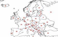 Printable Blank Europe Map Quiz 1 In Western Coloring Pages And 2   Europe Map Quiz Printable