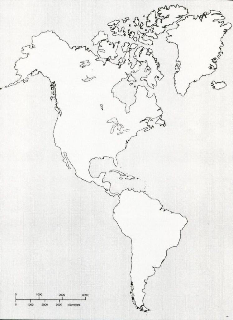 Printable Blank Map Of Western Hemisphere Diagram With X   Ap World - Hemisphere Maps Printable