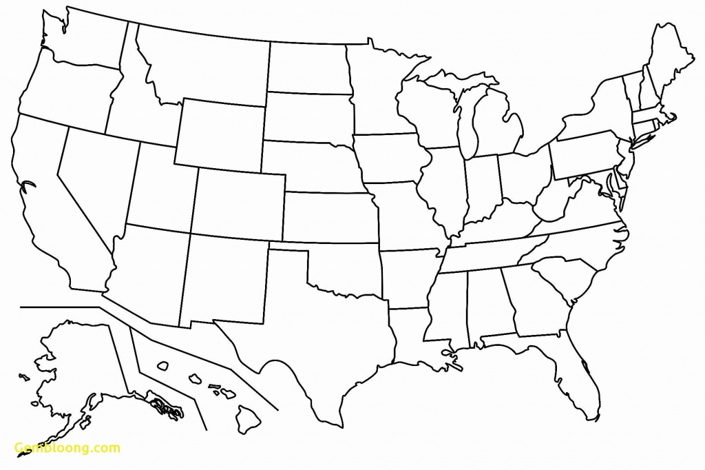 Printable Blank Us Map (72+ Images In Collection) Page 1 - Printable Blank Usa Map