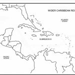 Printable Caribbean Islands Blank Map Diagram Of Central America And   Free Printable Map Of The Caribbean Islands