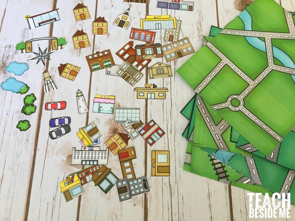 Printable City Maps | Dehazelmuis - Printable City Maps