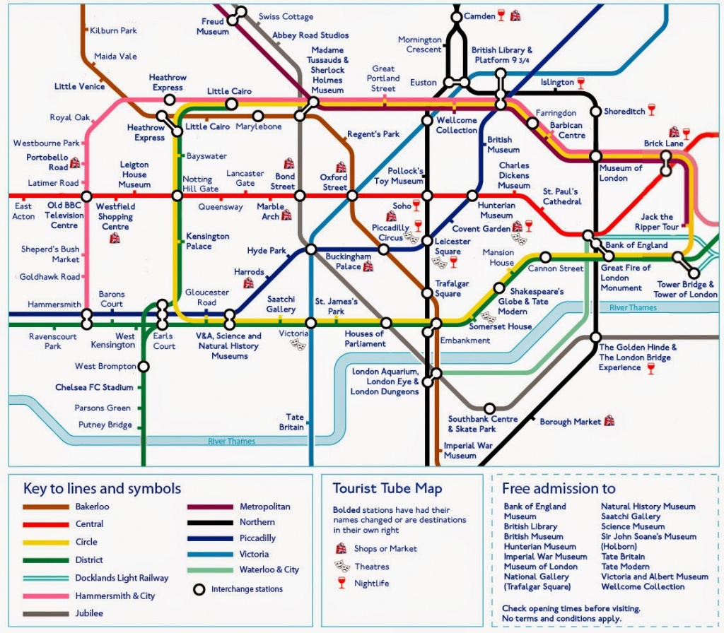 Printable London Underground Map 2015 - C # Ile Web' E Hükmedin! - Printable Map Of The London Underground