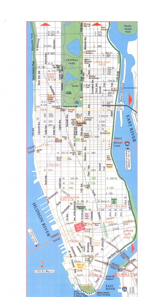 Printable Manhattan Street Map Download Printable Street Map New - Manhattan Road Map Printable