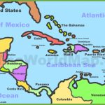Printable Map Of Caribbean Islands And Travel Information | Download   Free Printable Map Of The Caribbean Islands