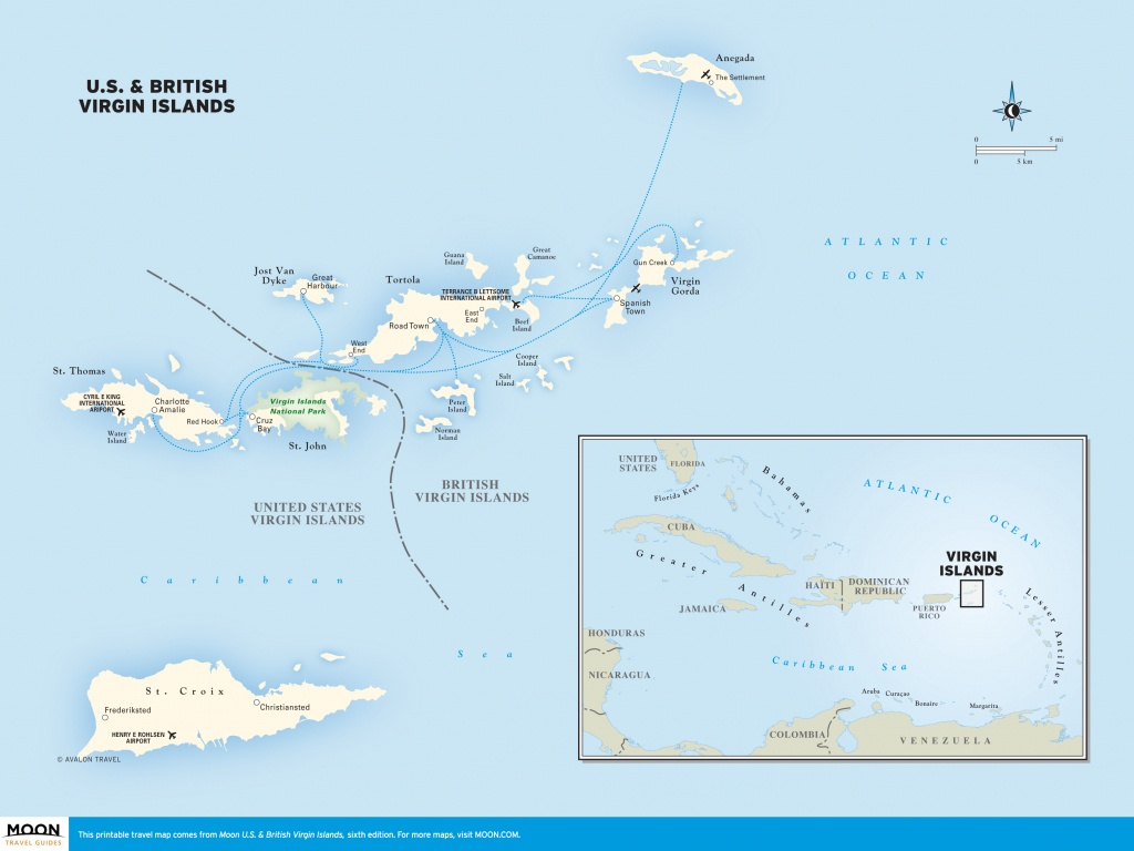 Printable Map Of Caribbean Islands And Travel Information   Download - Maps Of Caribbean Islands Printable