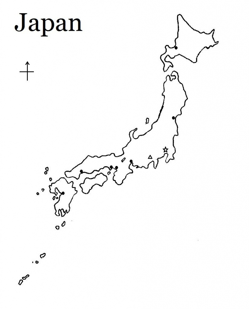Printable Map Of Japan | Tattoos | Japan Country、map、printable Maps - Printable Map Of Japan
