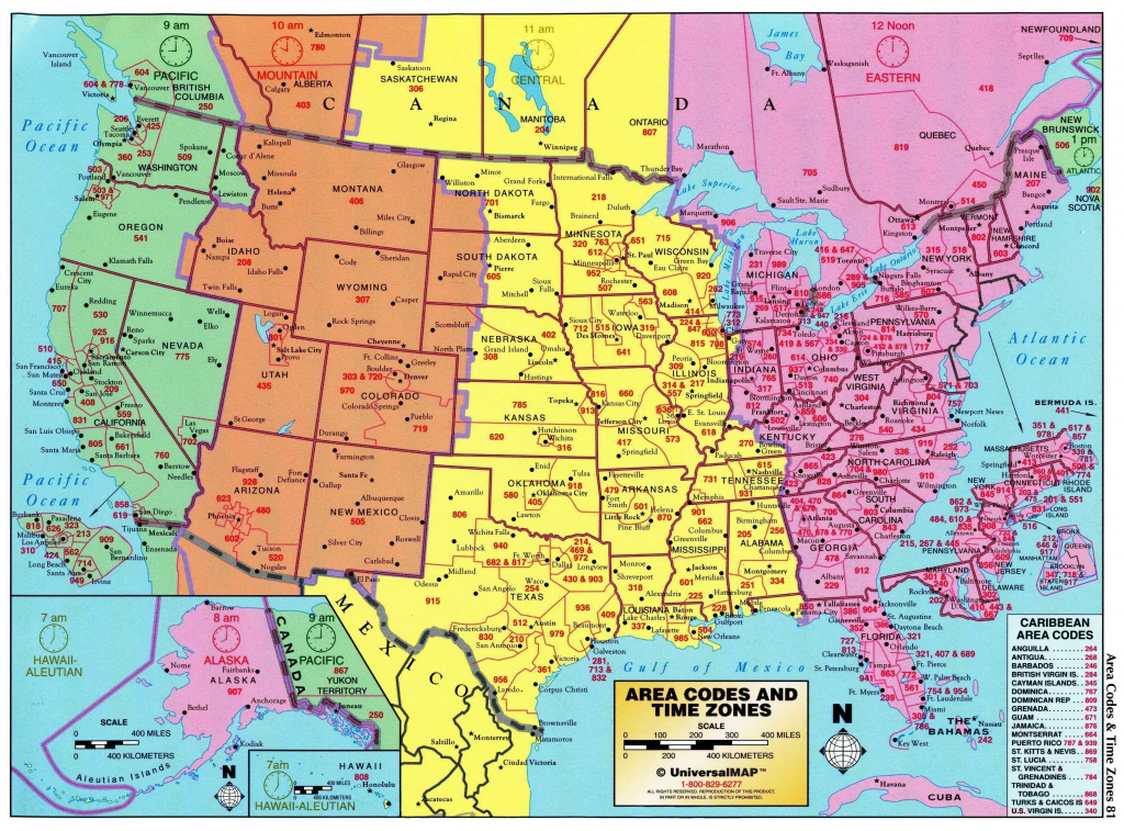 Printable Map Of Us Time Zones Usa Zone New World In Timezones Best - Canada Time Zone Map Printable