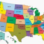 Printable Map Of Usa   Free Printable Maps   Printable Map Of The Usa States
