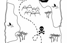 Printable Treasure Map Kids Activity | Printables | Pirate Maps   Printable Kids Pirate Treasure Map