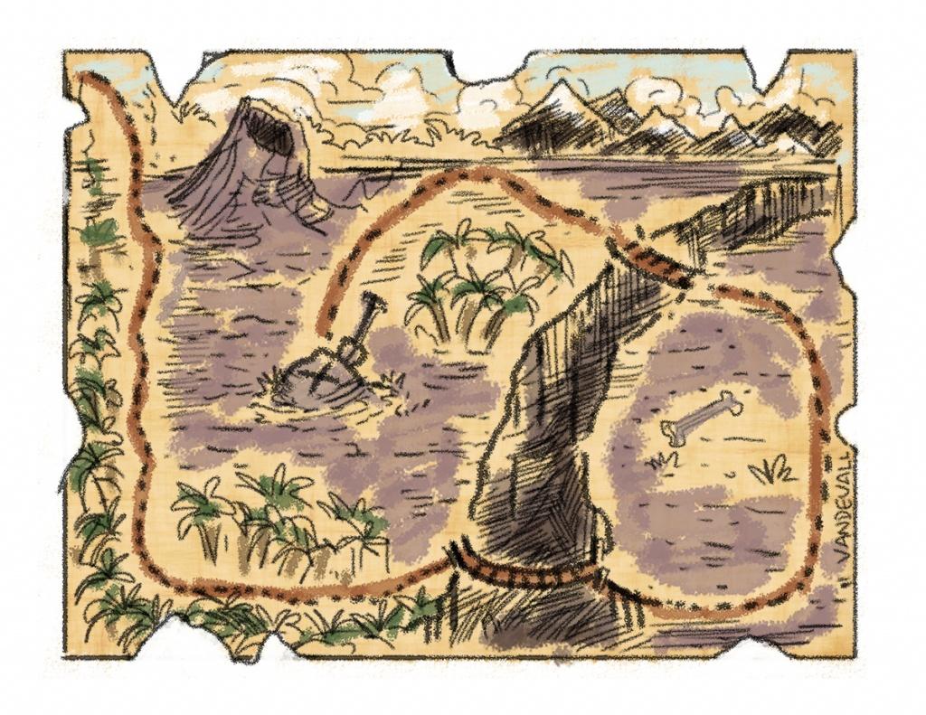 Printable Treasure Maps For Kids - Printable Treasure Maps For Kids
