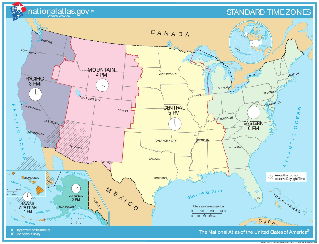 Printable Us Time Zone Map With States New Time Zone Map Usa - Usa Time Zone Map Printable