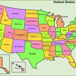 Printable Usa Map Pdf | D1Softball   Printable United States Map Pdf